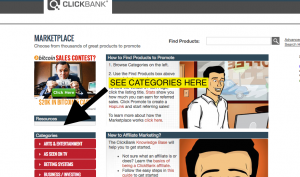 ClickBank Categories