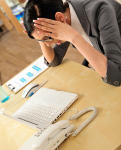 Frustration Laptop Office